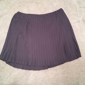 Banana Republic Blue Pleated Skirt